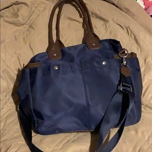 Very large satchel,so many pockets! Barely used